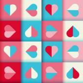 Abstrakta geometriska mönster — Stockvektor
