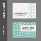 Corporate identity - business cards — Stockvektor