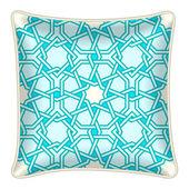 Decorative throw pillow — Wektor stockowy