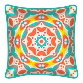 Decorative throw pillow — Stock vektor