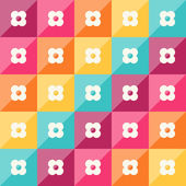 Abstrakcyjny wzór geometryczny — Wektor stockowy