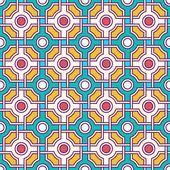 Tangled Eastern Pattern — Vetor de Stock