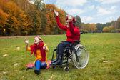 Инвалидности — Стоковое фото