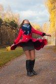 Girl in the Park — Stock Photo