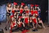 Sexy Playboy Girl — Zdjęcie stockowe