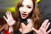 Sexy Playboy Girl — Stock Photo