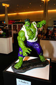 A model of the character Hulk from the movies and comics — Stock Photo