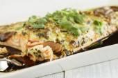 Furikake Salmon — Stock Photo