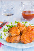 Russian Chicken Thighs — Stock Photo