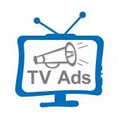 TV Ads — Stock Photo