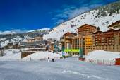 Soldeu ski village — Stock Photo