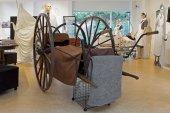 Hoogeveen, Netherlands - October 26, 2014: expostion history Bethesda Hospital in museumde5000morgen, Netherlands — Stock Photo
