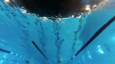 Flip turn — Stock video