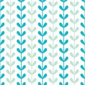 Abstract vines leaves seamless pattern background — Stock Vector