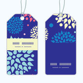 Vector colorful bursts vertical stripe frame pattern tags set — Cтоковый вектор