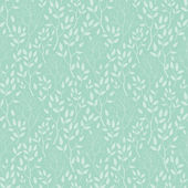 Vector green trees texture seamless pattern background — Stock Vector