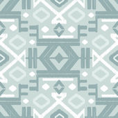Vector silver gray ikat seamless pattern background — Stock Vector