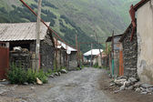 Village, Caucasus Mountains, Georgia — Stock Photo