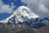Mount Kazbek, Georgia, Europe — Stock Photo