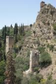 格鲁吉亚第比利斯,堡垒 narikala — 图库照片