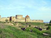 Ancient Akkerman fortress at Belgorod-Dnestrovsk y, near Odessa Ukraine — Stock Photo