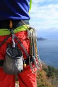 Climbing equipment. — Stock Photo