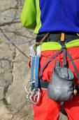 équipement d'escalade. — Photo