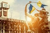 Kiev, maidan nezalezhnosti — Stok fotoğraf