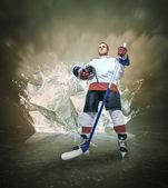 ホッケー選手 — ストック写真