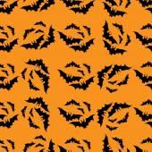 Patrón sin fisuras de murciélagos 2 — Vector de stock