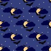 Bats seamless pattern 4 — Stock Vector