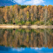Water reflection - lake Liptovska Mara, Slovakia — Stock Photo #55868435