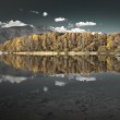 Water reflection - lake Liptovska Mara, Slovakia — Stock Photo #55868727