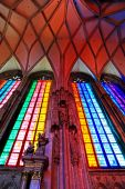 St. Stephen's Cathedral in Vienna — Foto de Stock