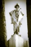 Statue of Juraj Janosik - slovak highwayman — Foto de Stock