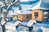 Historical village Vlkolinec, Slovakia — 图库照片