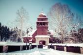 Articular wooden church, Slovakia — Stock Photo