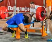 The 2014 world Cup powerlifting AWPC in Moscow. — ストック写真