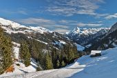 Ski resort Zillertal - Tirol, Austria. — Photo