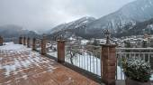 Ski resort Zillertal - Tirol, Austria. — Foto de Stock