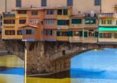 Ponte vecchio, em Florença — Fotografia Stock