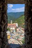 View over Vernazza, One of the Cinque Terre Villages, Italy — Stock Photo