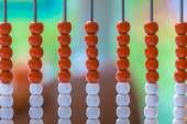 Traditional Abacus as a Metaphor for Education — Stock Photo
