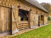 Traditional Shed in Dutch Building Style, Drenthe, Netherlands — Stock Photo