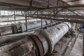 Industrial Building Interior with sodium carbonate Centrifuges — Stock fotografie