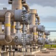 Natural gas field — Stock Photo #54067795