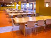 Modern Dining Hall — Stock Photo