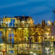 Industrial Chemical plant framework profile detail — Stock Photo #63614157