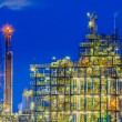 Industrial Chemical plant framework detail — Stock Photo #69716223