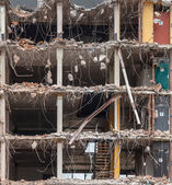 Demolition background — Stock Photo